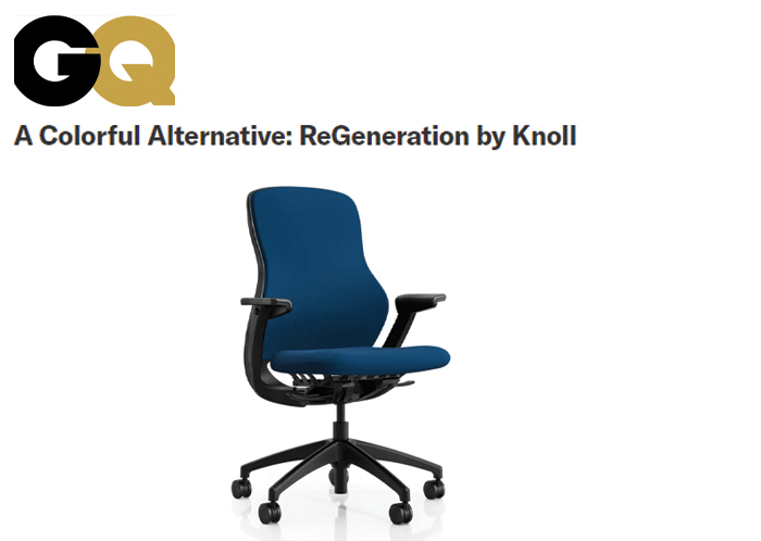 Gear Patrol and GQ Magazine Knoll + Muuto Work from Home
