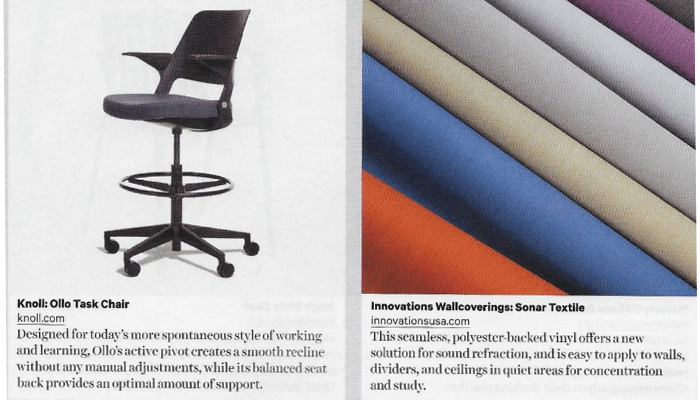 Knoll Contact Magazine Ollo