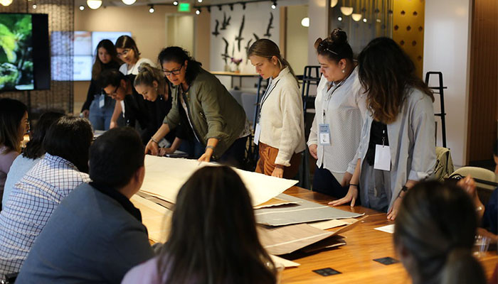 Knoll Los Angeles Showroom Hosts Student Day + Design Challenge