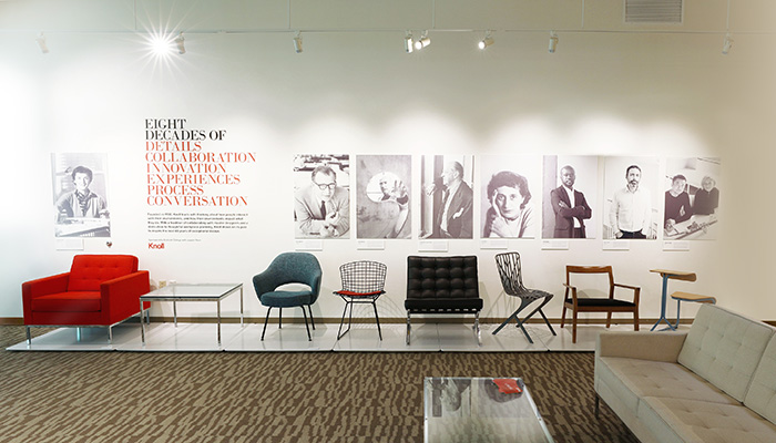 Knoll Bring Eight Decades of Design to Endicott College