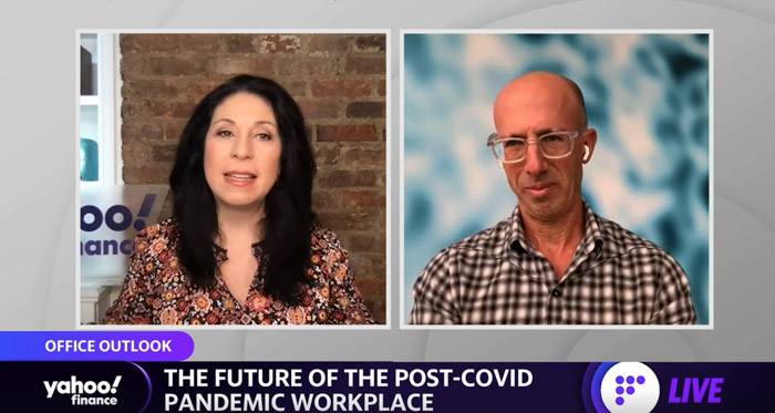 Knoll CEO and Chairman Speaks on Yahoo Finance