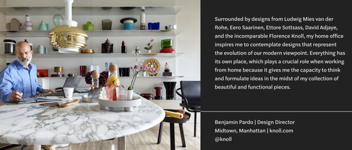 NYCxDesign Magazine Writes About Benjamin Pardo's Home Office