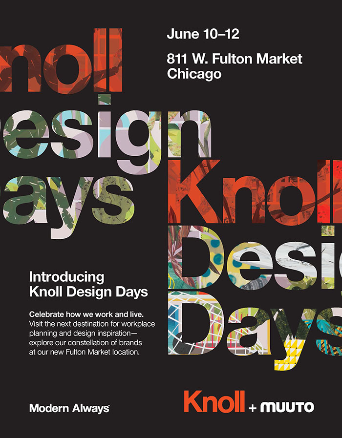 Knoll Interior Design Advertisement Knoll Design Days