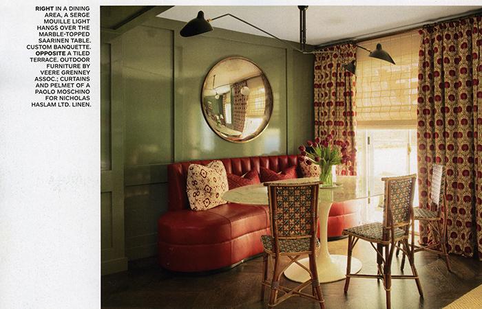 Saarinen Table Architectural Digest October 2018