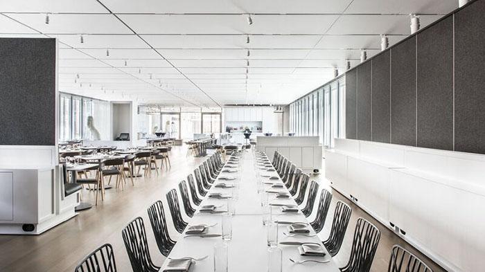 david adjaye designs installed in terzo piano restaurant features