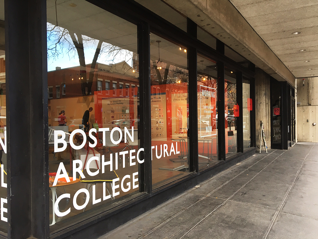 Working Now At The Boston Architectural College Features Knoll