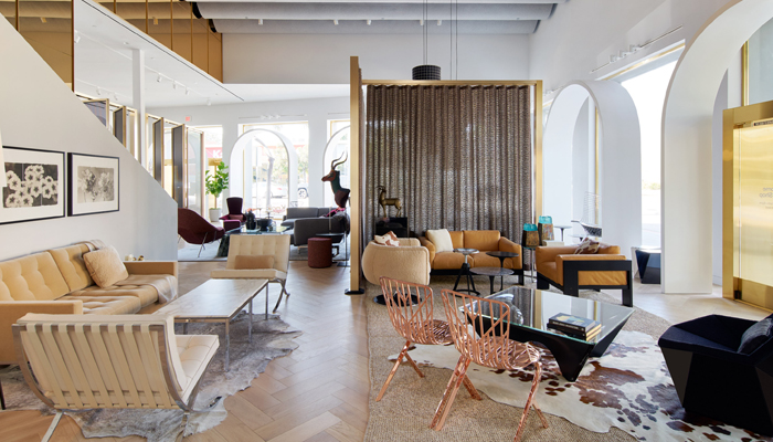 Business of Home Features Knoll Los Angeles Home Design Shop