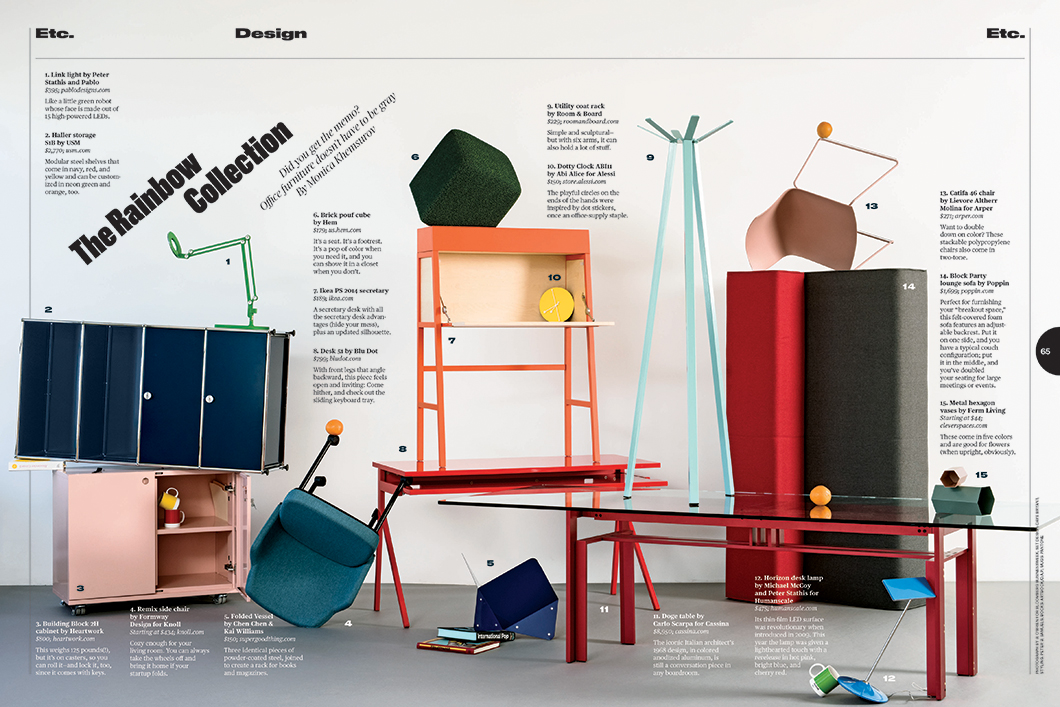 Remix Side Chair in Bloomberg Businessweek