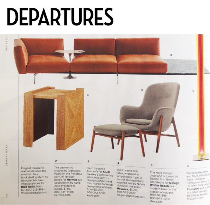 Departures Features Avio Sofa System Knoll Piero Lissoni