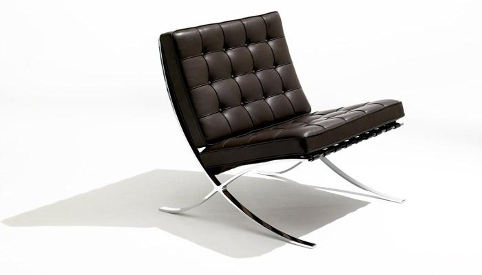 Barcelona Chair Dezeen Bauhaus 100 Mies van der Rohe