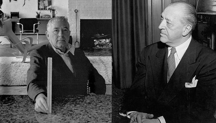 Breuer and Mies Dezeen Bauhaus 100