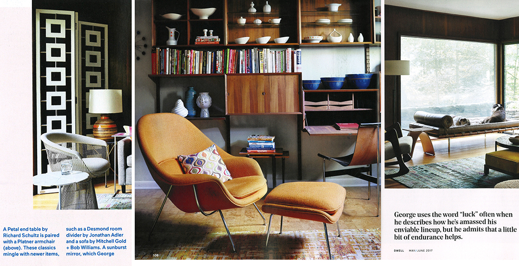 Dwell Features Knoll Designs in Mid-Century Modern Home | Features ...