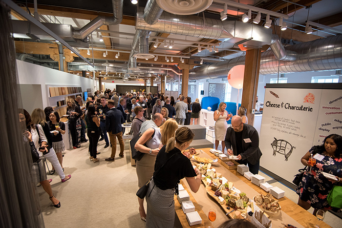 Knoll Sponsors Idc Symposium In Toronto Showroom Features Knoll