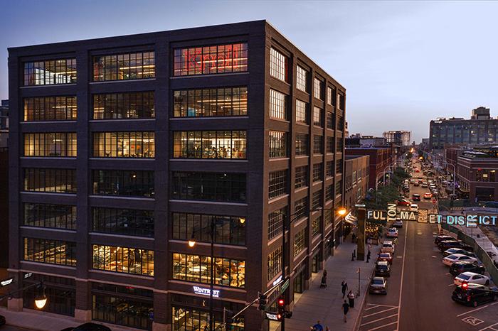 Knoll Chicago at Fulton Market Interior Design November Issue