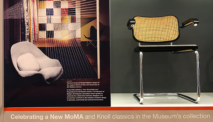 Knoll New York Home Design Shop Celebrates New Museum of Modern Art MoMA