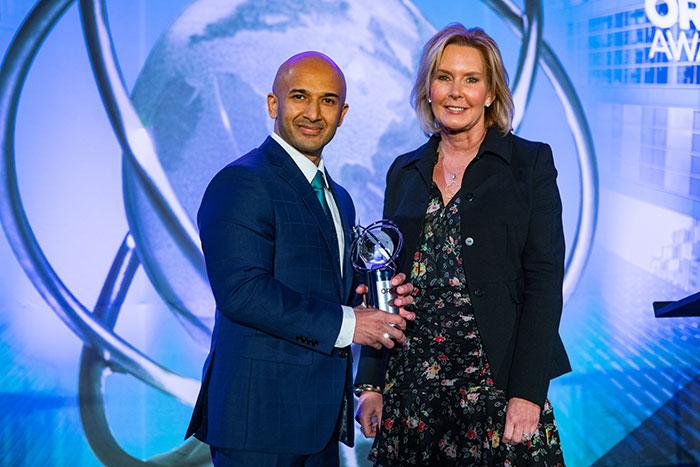 Usman Waheed Recieves CIO ORBIE Award of the Year