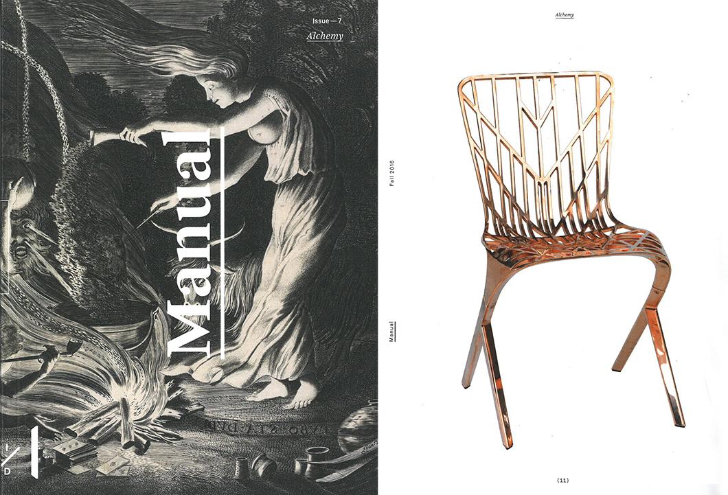 Adjaye Skeleton Chair In The RISD Museumu0027s Manual