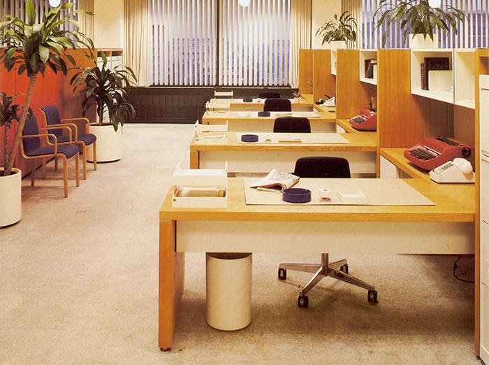 Knoll SOM Weyerhauser Headquarters Stephens System