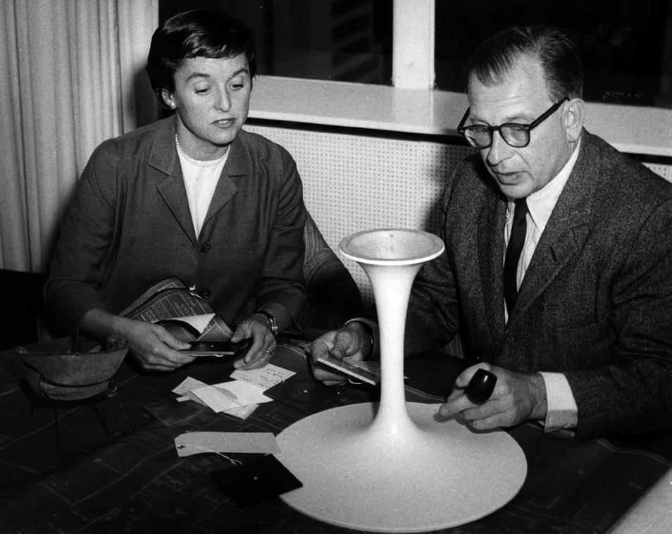 Eero Saarinen y Florence Knoll |  Knoll Noticias