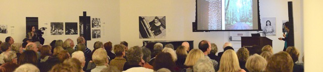 Celia Bertoia at the Woodmere Art Museum