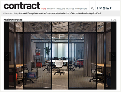 Contract Magazine 2016 Rockwell Unscripted