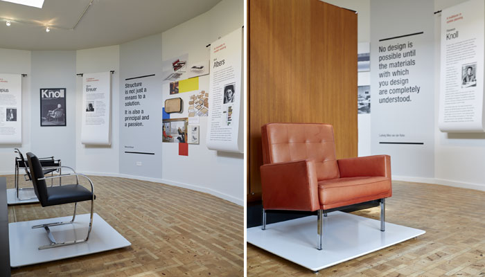 Masters of Modern: Bauhaus Masters and Shu Opens at Farnsworth House
