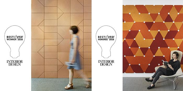 Spinneybeck Filzfelt Honored At Interior Design Boy Awards Features Knoll