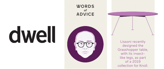 Dwell Features Piero Lissoni and Knoll Grasshopper Tables