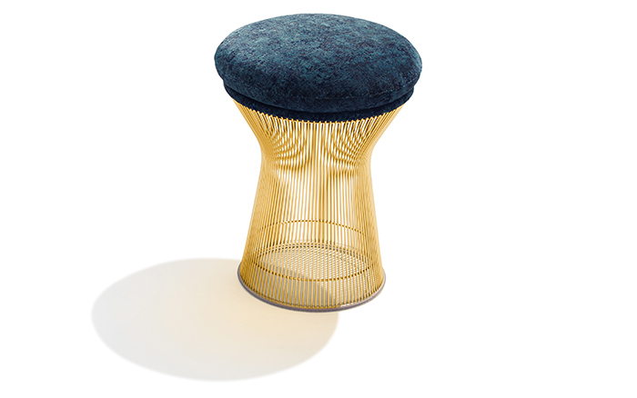 Platner Gold Stool in T Mag