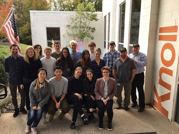 Pratt Students Visit Knoll