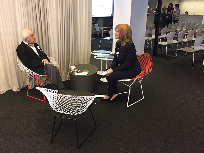 Richard and Peter Schultz at Annual ICFF Retailer Breakfast 2016