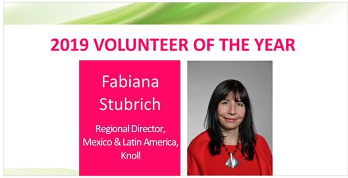 Fabiana Stubrich Wins Volunteer of the Year at 2019 REmmy Awards Gala