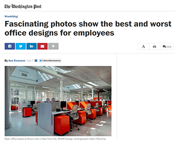 Washington Post features Knoll in article on office evolution