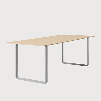 Muuto 70/70 table for meeting setting