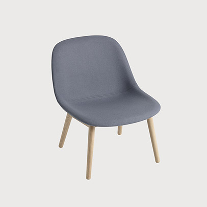 Muuto Fiber Lounge Chair for Lounge Settings