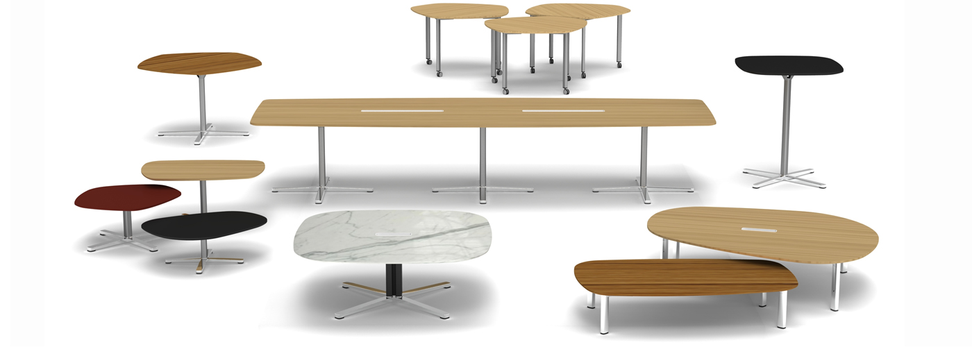 Islands by Knoll Table Collection Hero Image