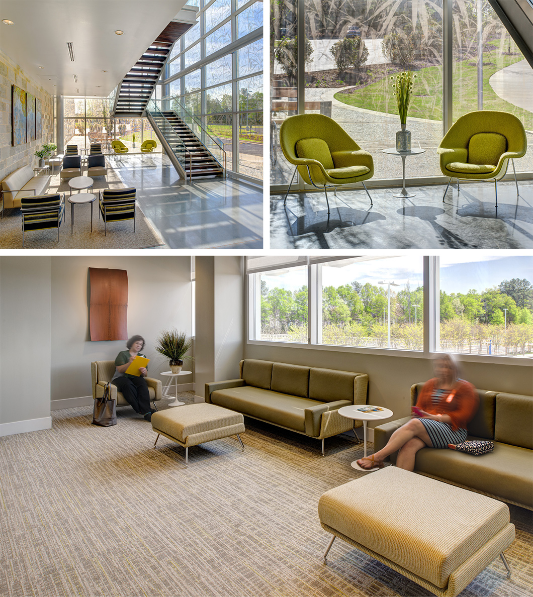 Modern Architecture Greenville Sc st. francis cancer center | workplace research | resources | knoll