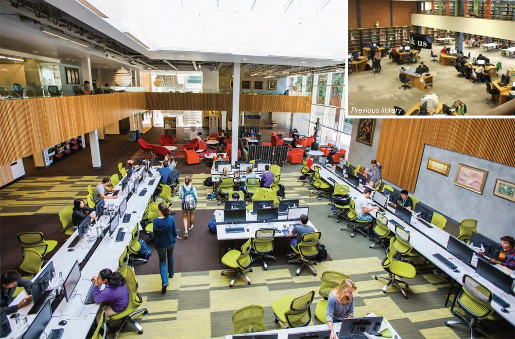 University Of Portland Clark Library on cost effective open floor plans