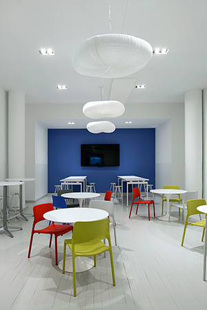 Bright, Versatile Chairs Add A Dose Of Vibrant Color. | Featured: Saarinen  Round