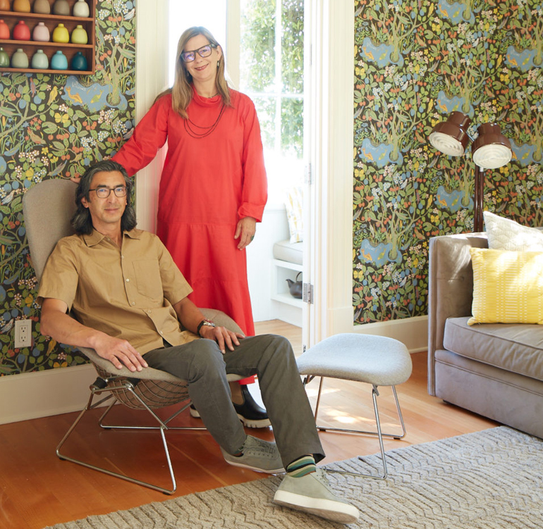 Design Values Take Center Stage in Cathy Bailey and Robin Petravic's Home