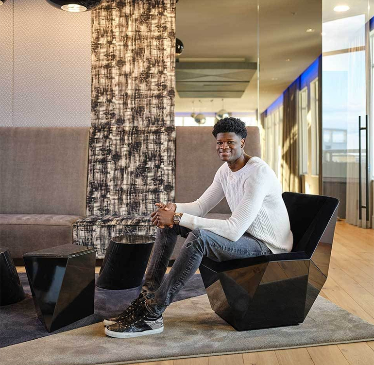 How NBA Star Mo Bamba Created a Home Personal to His West African Roots