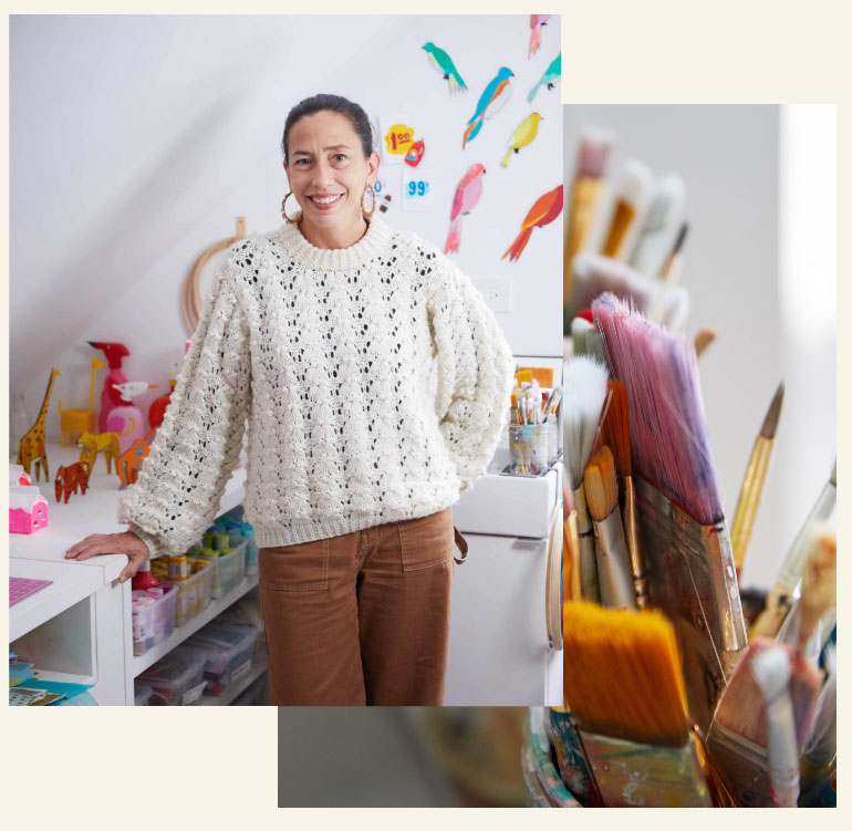 Jodi Levine Creates Crafts with a Cool Factor at Home