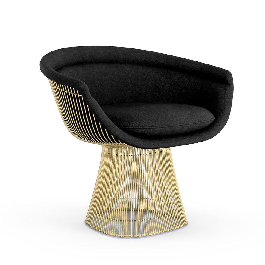 Fantastisch Platner Lounge Chair In Gold