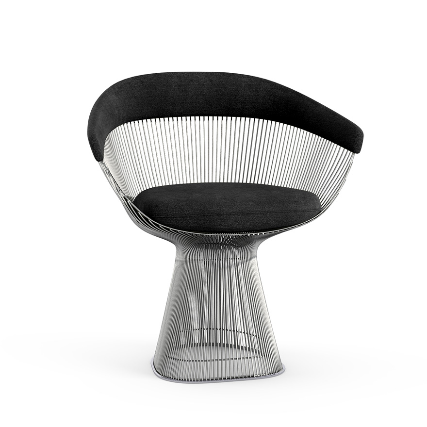 Platner Chair platner arm chair | knoll