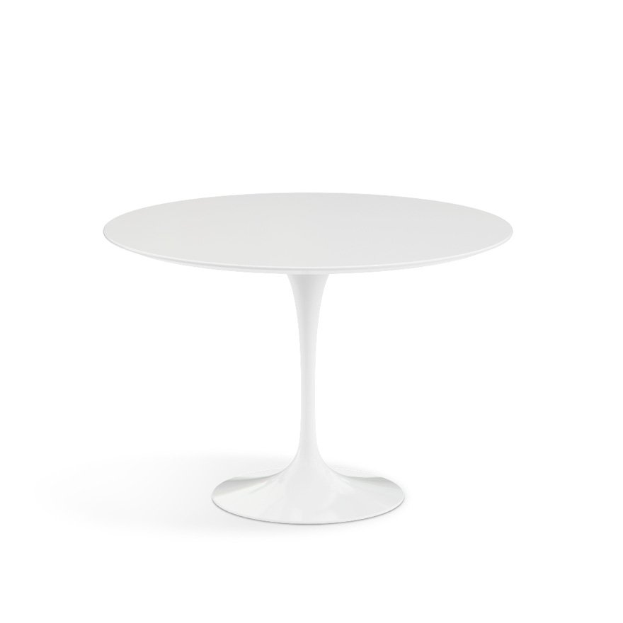 Tavolo Tulip Knoll.Saarinen Dining Table 42 Round Knoll