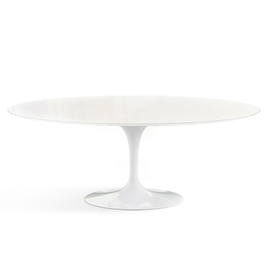Saarinen Outdoor Dining Table Oval Knoll - Saarinen outdoor dining table