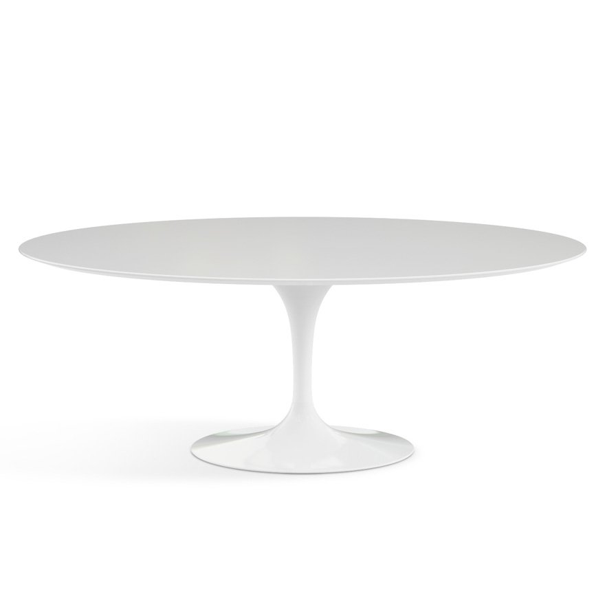 Saarinen Dining Table Oval Knoll - Oval tulip table reproduction