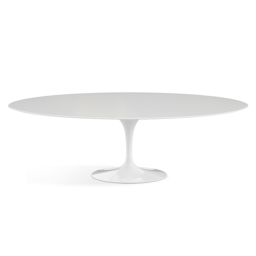 Saarinen Dining Table Oval Knoll - Saarinen oval dining table 96