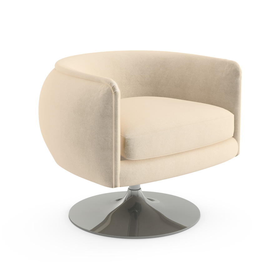 Superbe Du0027Urso Swivel Chair