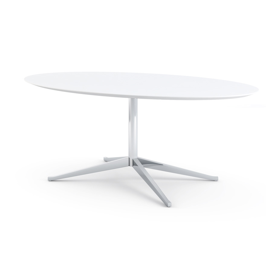 Florence Knoll Table Desk Oval 78